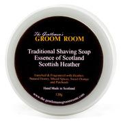 Ggr001 gentlemans groom room shave soap scottish heather