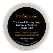 Gentlemans groom room shave soap sweet gale