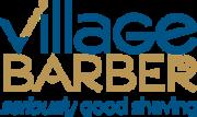 Village barber logo